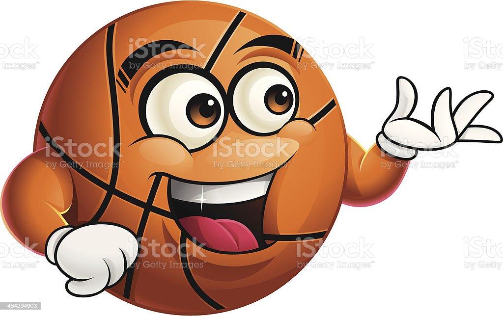 Basketball Cartoon - Presenting royalty-free basketball cartoon presenting stock vector art & more images of anthropomorphic