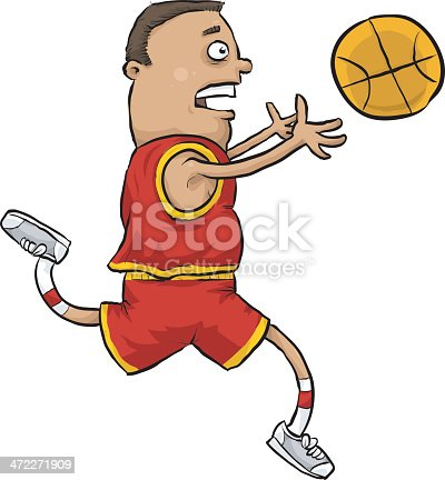 istock Basketball Catch 472271909