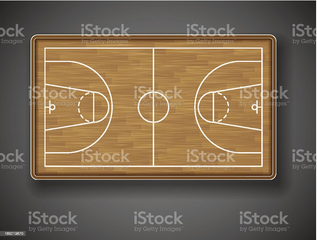 Basketball court royalty-free basketball court stock vector art & more images of athlete