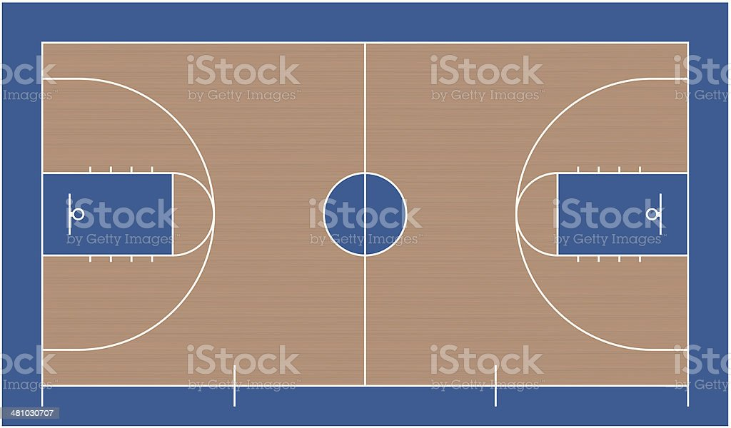 Outdoor basketball court texture