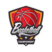 Basketball design template
