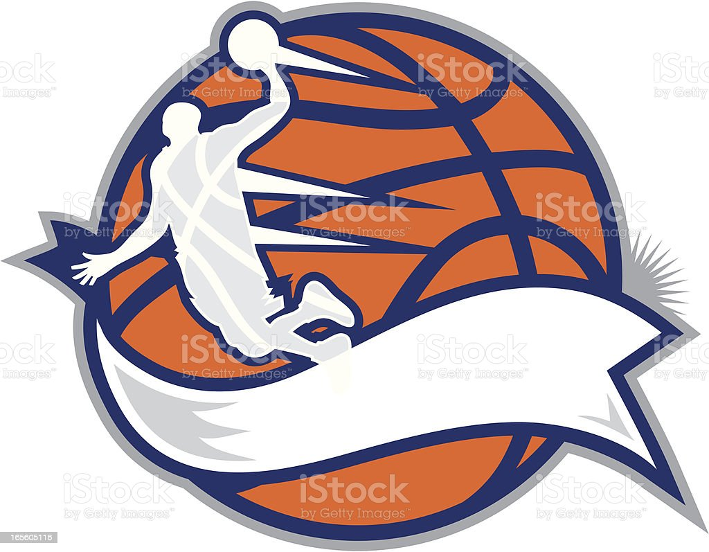 Basketball Design vector art illustration