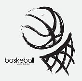 basketball design, vector illustration eps 10 graphic