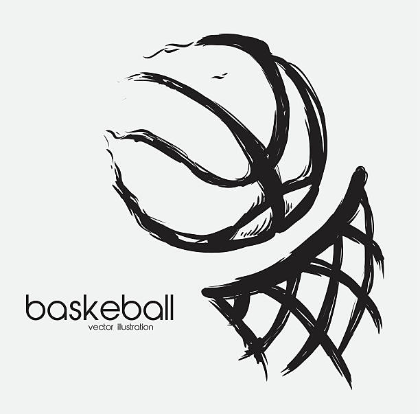 basketball-design, Vektor-illustration-eps - 10 – Vektorgrafik