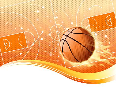 basketball fire field