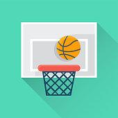 Basketball Flat Icon