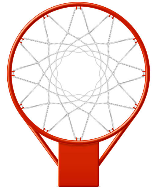 Basketball hoop Vector illustration with transparent effect. Eps10. basketball hoop stock illustrations