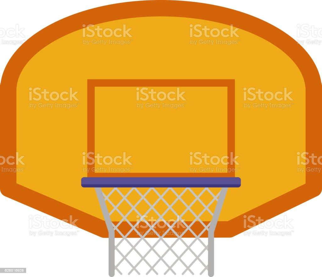 Basketball Hoop Vector Illustration Stock Art More Images Diagram Royalty Free Amp