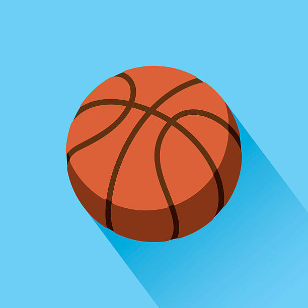 basketball-ikone - basketball stock-grafiken, -clipart, -cartoons und -symbole