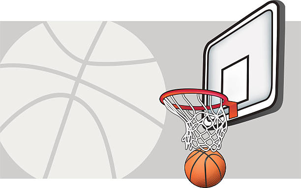 Basketball-Grafik – Vektorgrafik