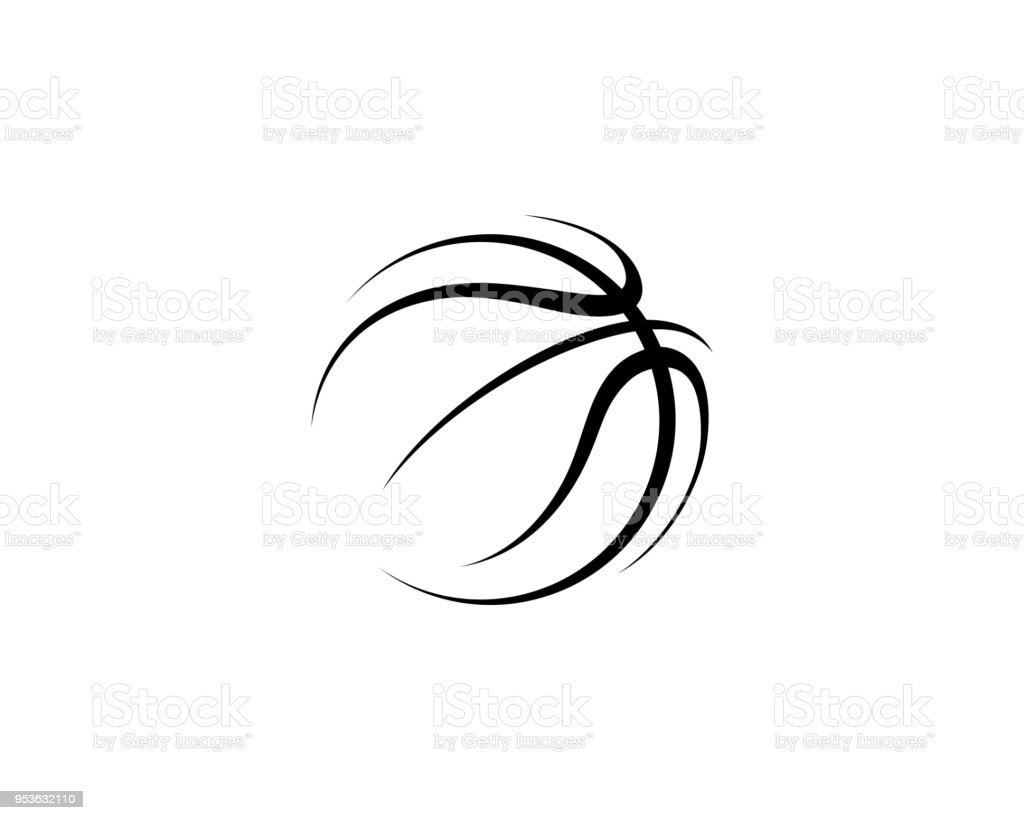 Basketball Illustration vector art illustration