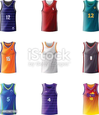 istock Basketball Jersey 495390184