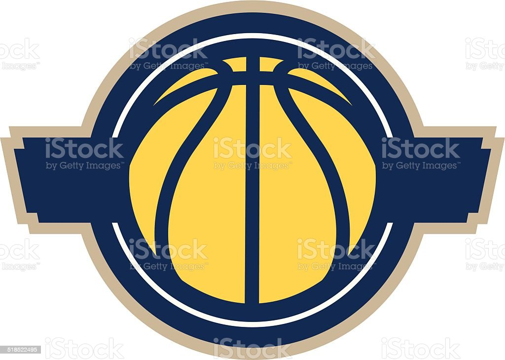 Basketball Logo Banner royalty-free basketball logo banner stock vector art & more images of ball