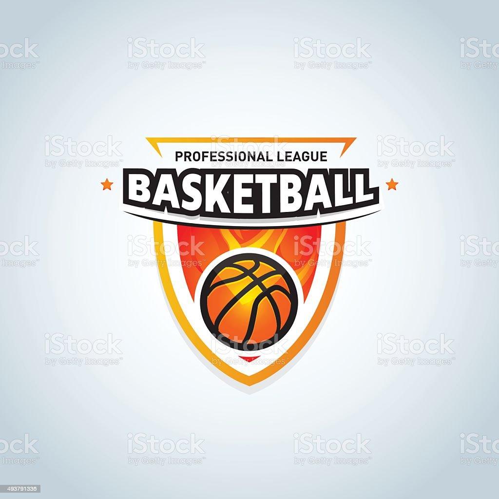 Basketball Logo Template Basketball Logotype Sport Badge Logo Design ...