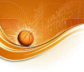 design of vector blank basketball hall.This file was recorded with adobe illustrator cs4 transparent.EPS10 format.