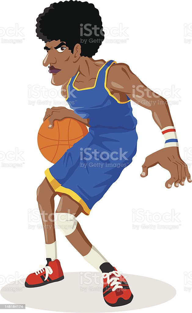 Basketball Player royalty-free basketball player stock vector art & more images of activity