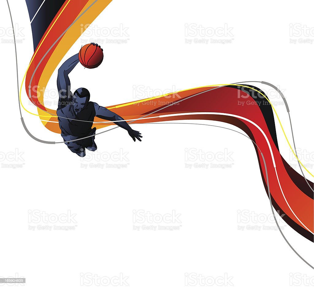 Basketball Player royalty-free basketball player stock vector art & more images of abstract