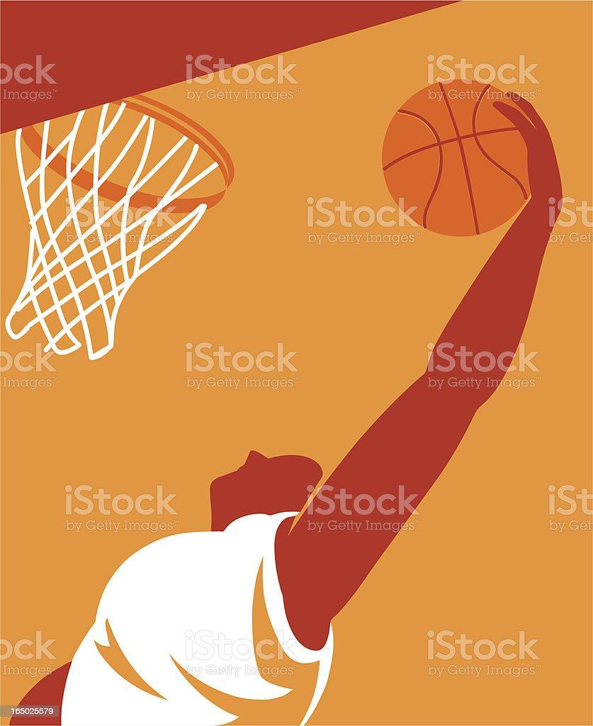 Basketball Player - Vector vector art illustration