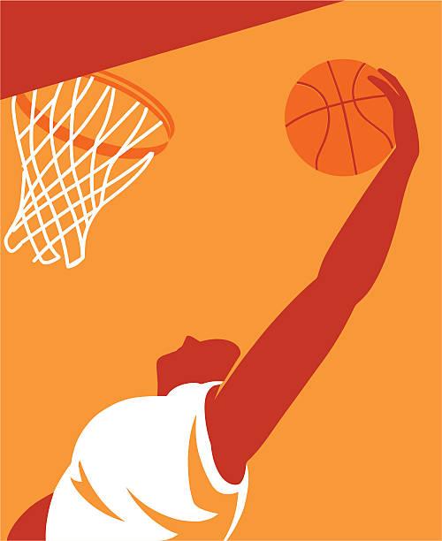 Basketball Player-Vektor – Vektorgrafik