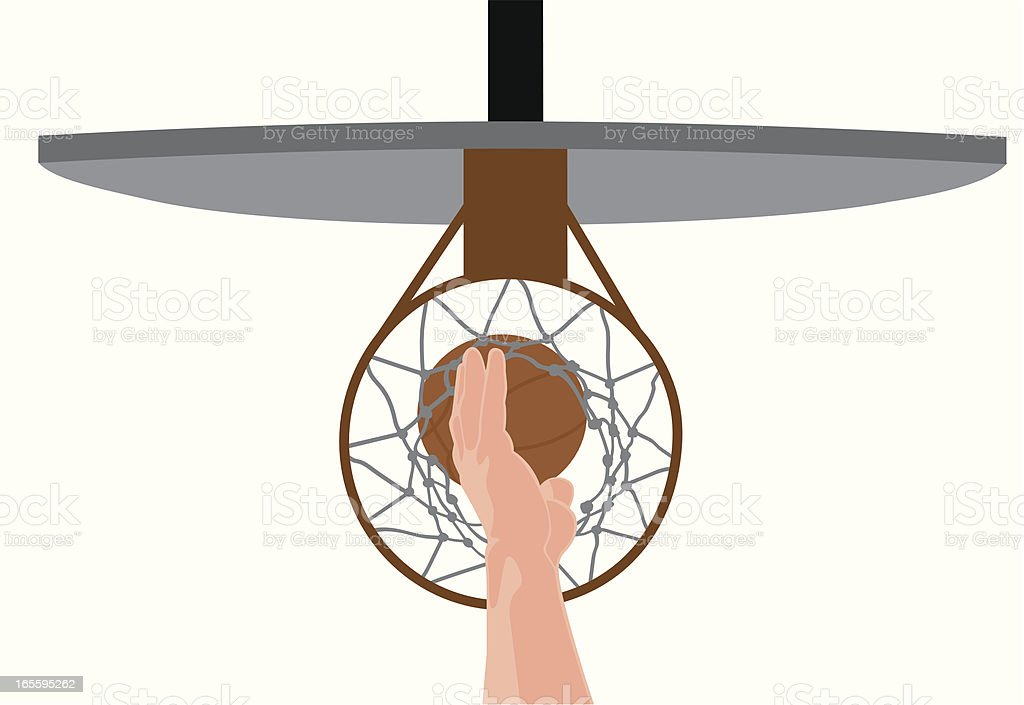 Basketball Player's Hand royalty-free basketball players hand stock vector art & more images of adult