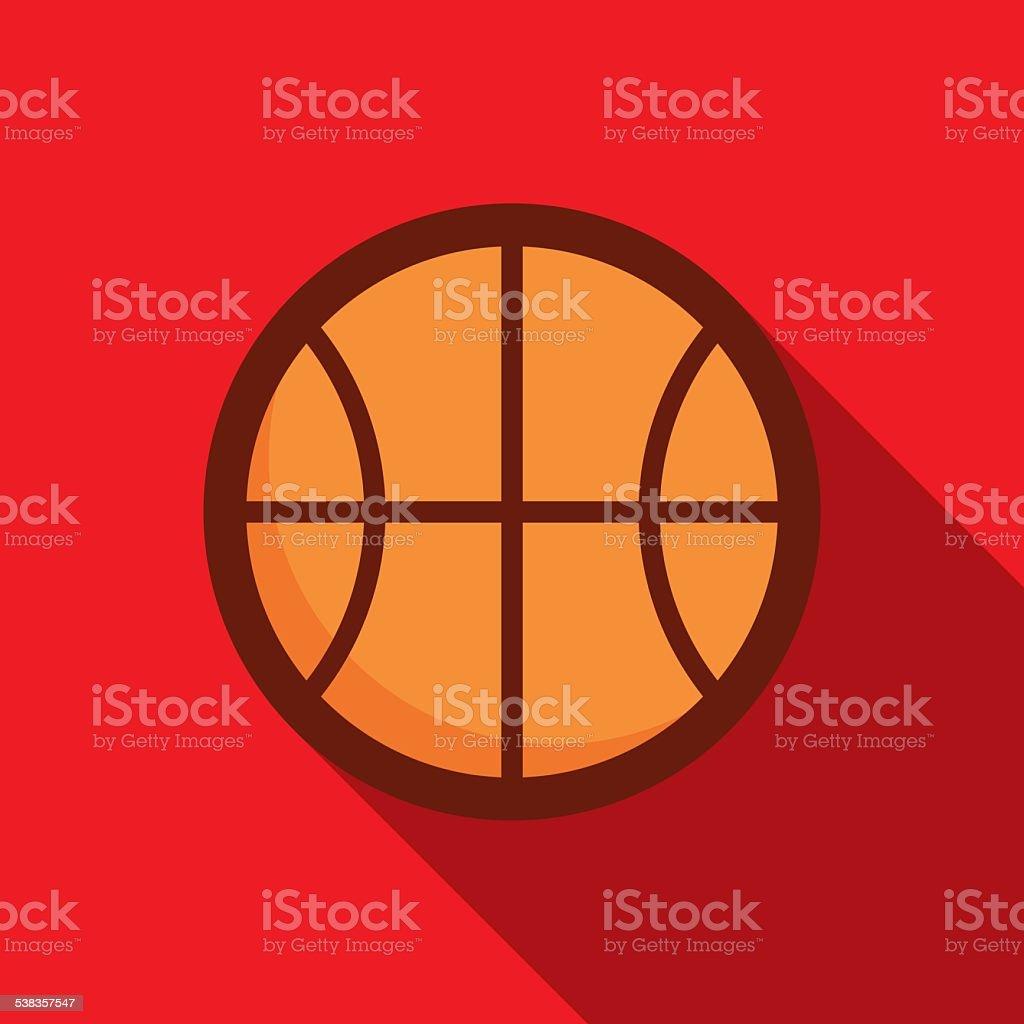 Póster de baloncesto - ilustración de arte vectorial
