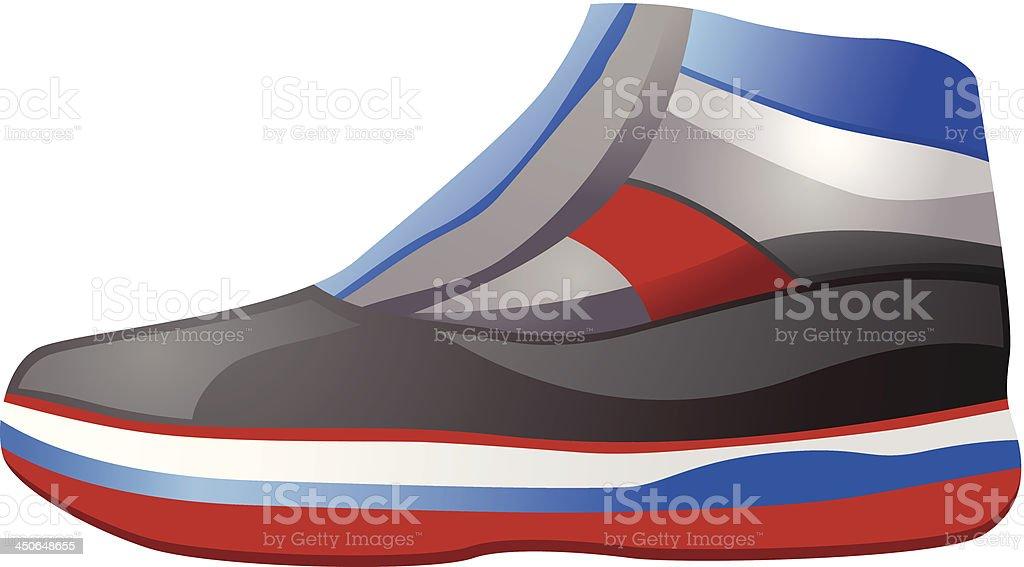 Basketball Shoe royalty-free stock vector art