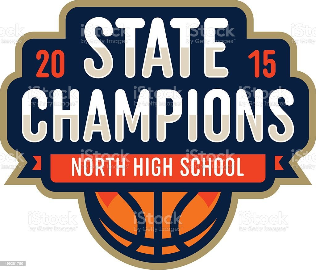 Basketball State Champions royalty-free basketball state champions stock vector art & more images of 2015