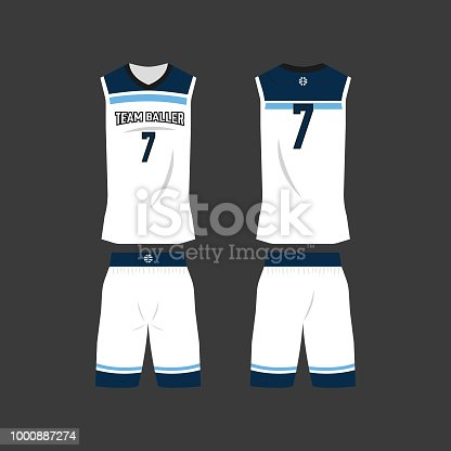Basketball Jersey Template Vector Free Ai Svg And Eps