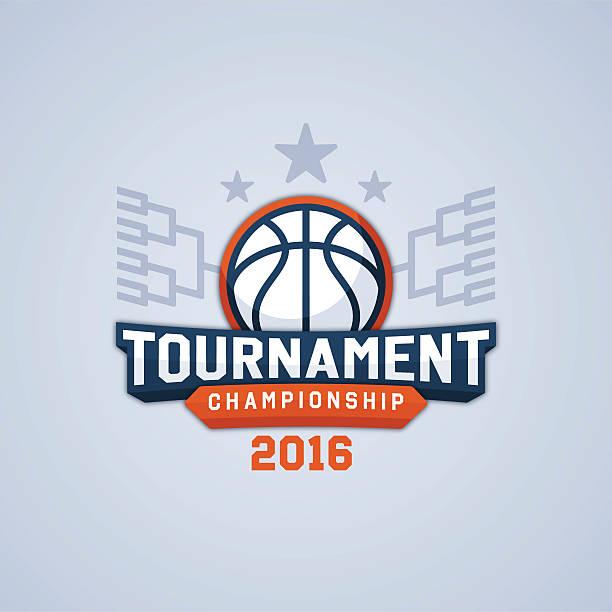stockillustraties, clipart, cartoons en iconen met basketball tournament championship - sportkampioenschap