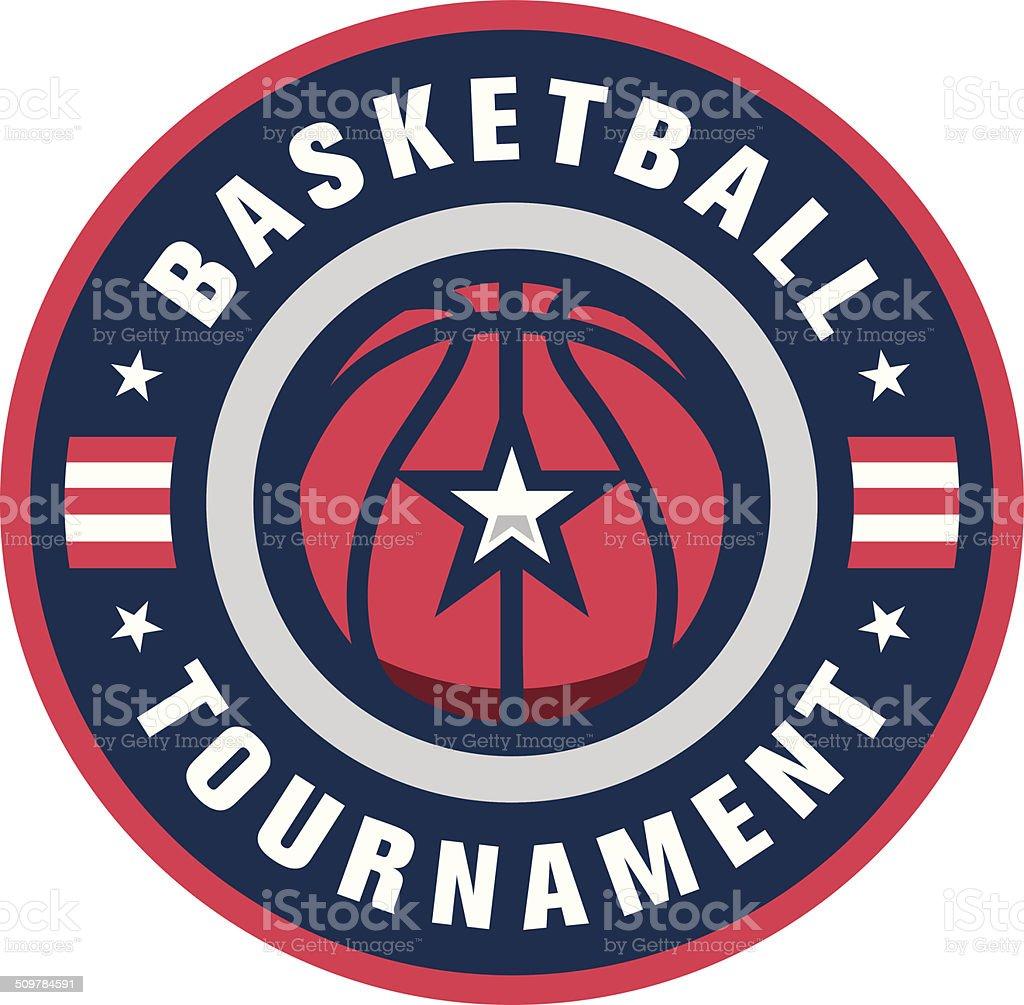 Basketball Tournament Logo royalty-free basketball tournament logo stock vector art & more images of basketball - ball