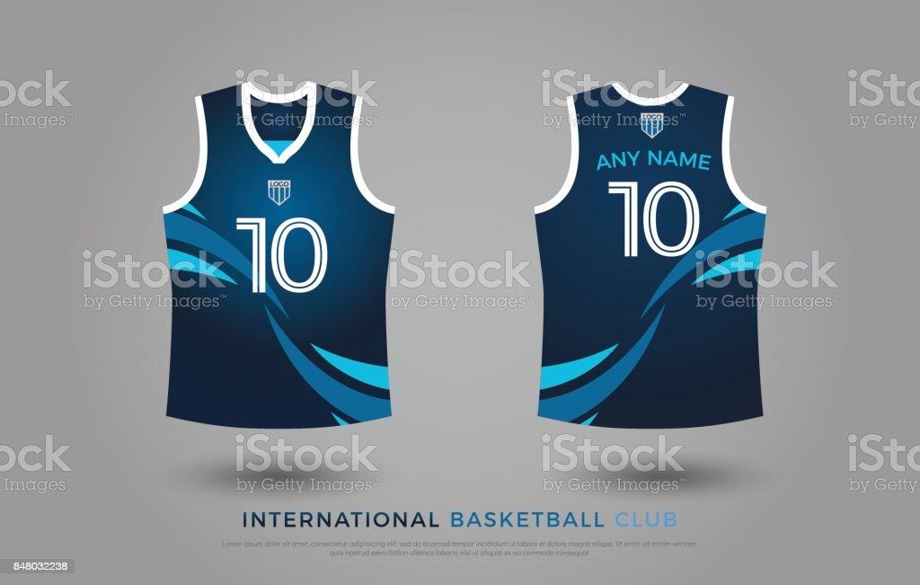 d5ea51ed99e5d ensemble design t-shirt basket uniforme du kit. modèle de maillot de basket-