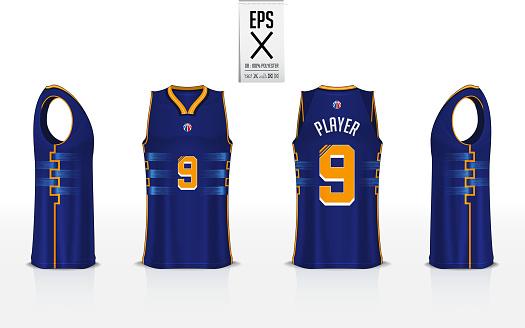 Download Basketball Uniform Template Design For Basketball Club ...
