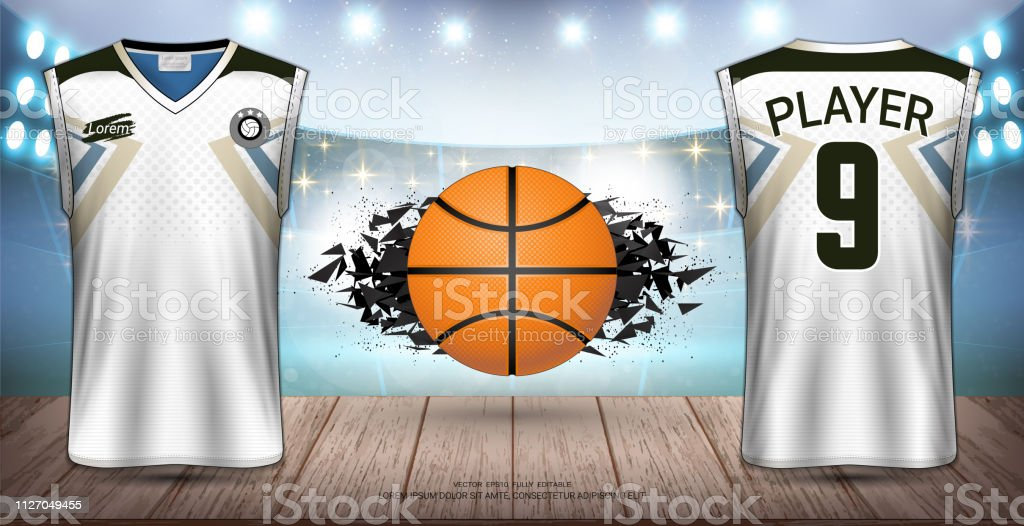 Basketball Uniforms & Jerseys, Tank Tops and Sleeveless Shirts Sport...