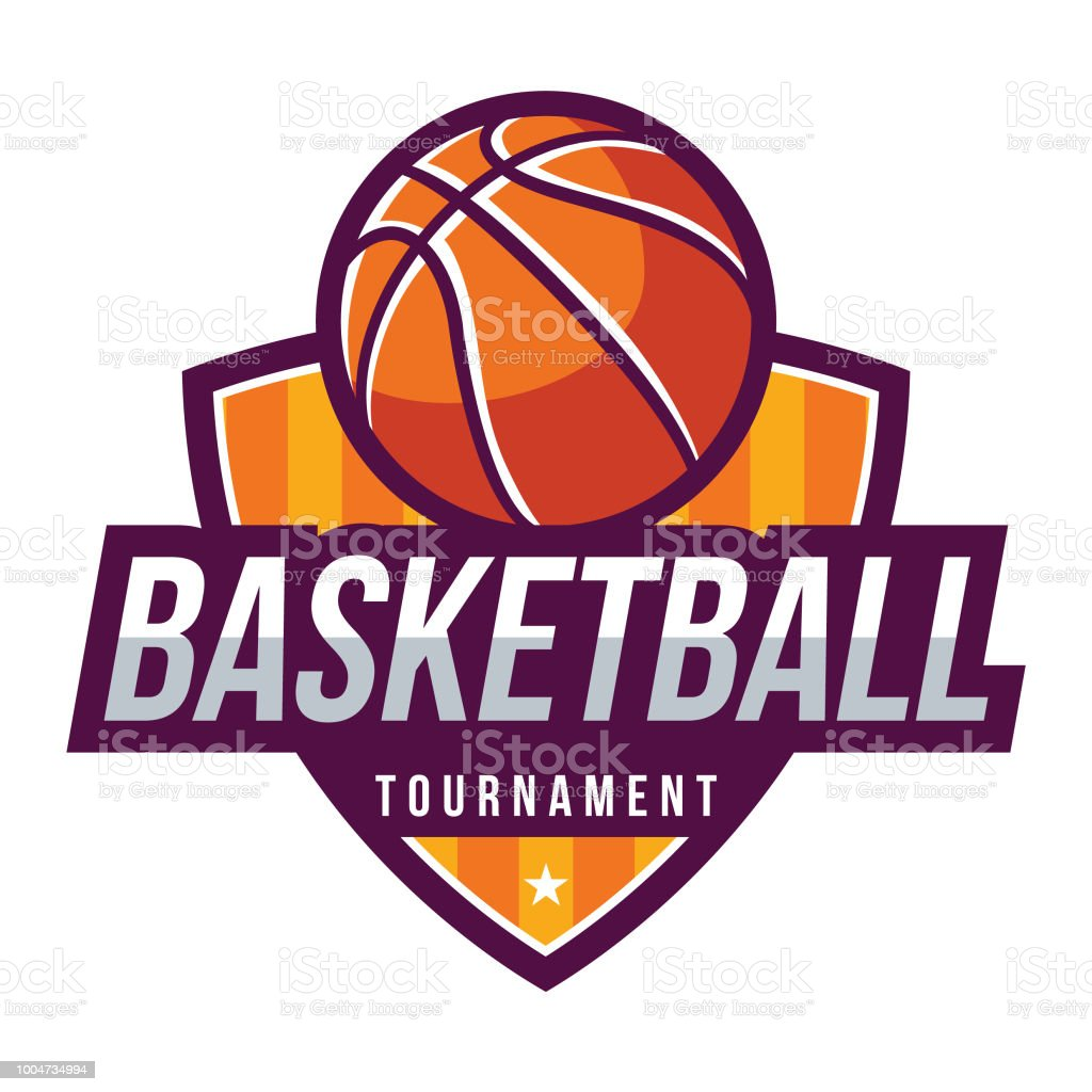 Basketball Vector Badge Stock Vector Art More Images Of Badge