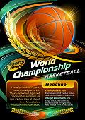 Basketball, sports news. EPS 10.