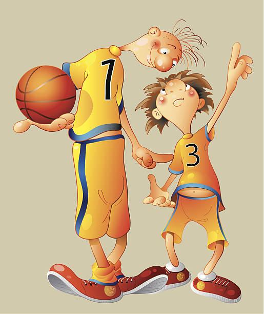 バスケットボール ベクターアートイラスト