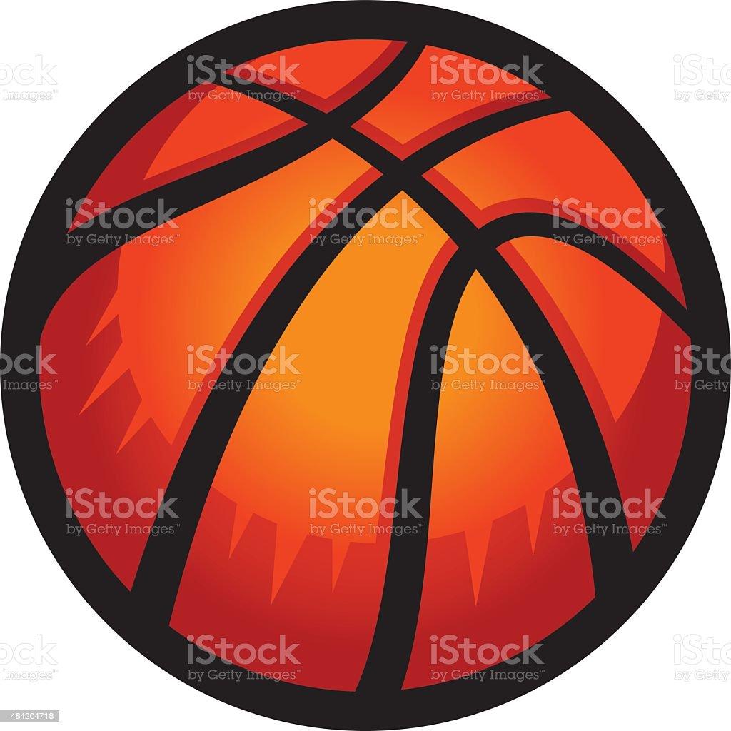 De básquetbol - ilustración de arte vectorial