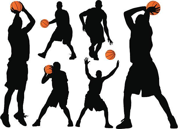バスケットボール - バスケットボール点のイラスト素材/クリップアート素材/マンガ素材/アイコン素材