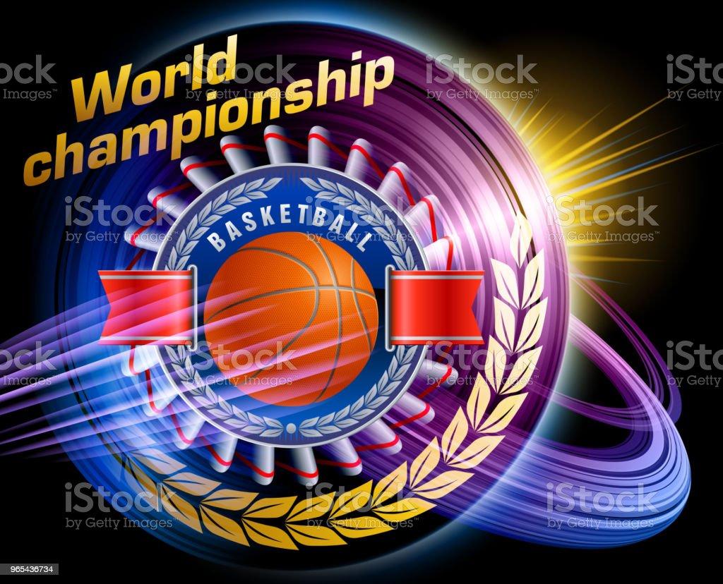 Joueur de basket  - clipart vectoriel de Balle de golf libre de droits