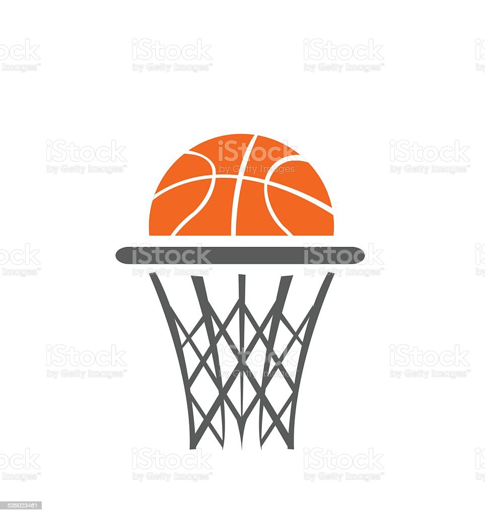 Vecteur de basket-ball, - Illustration vectorielle