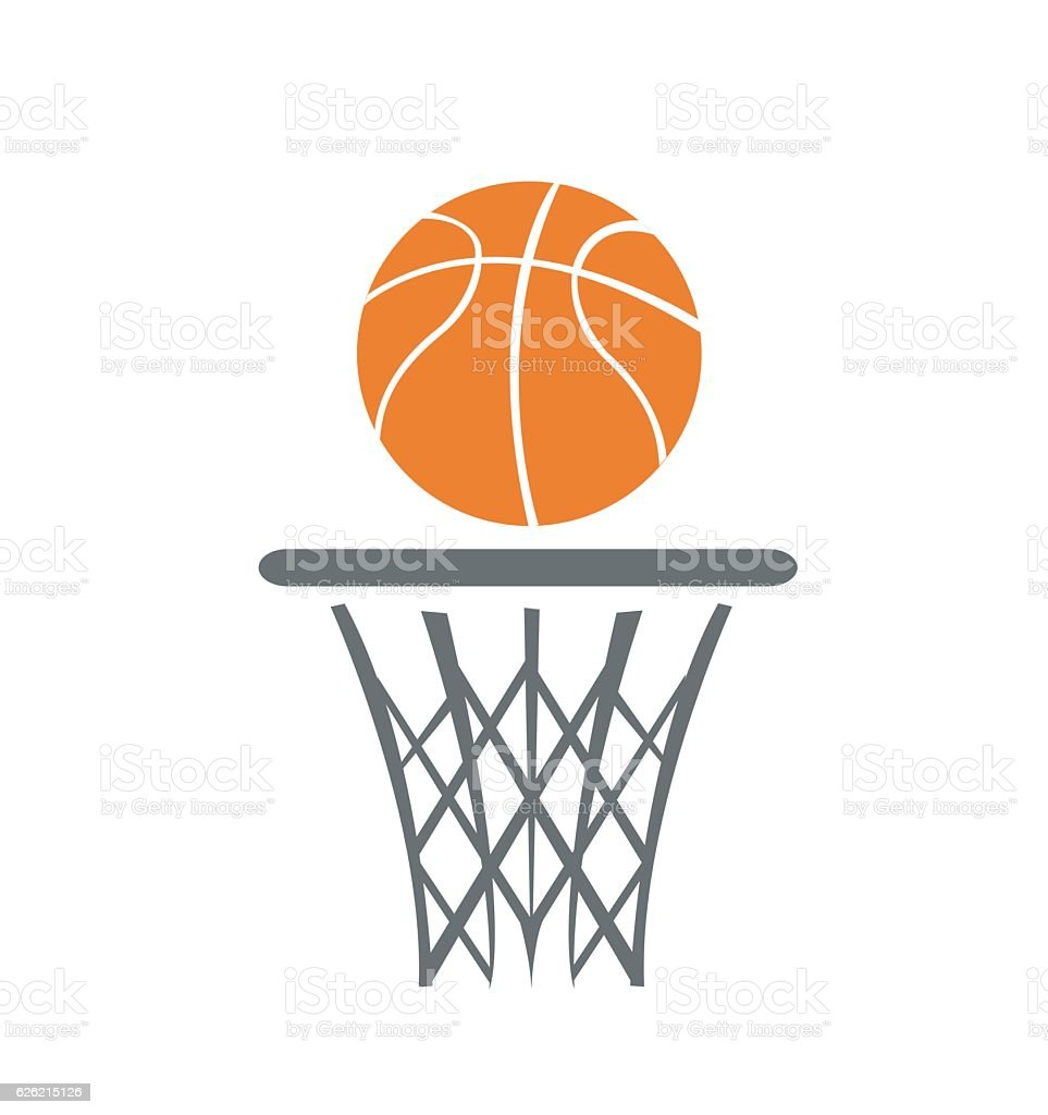 Basketball, vector vector art illustration