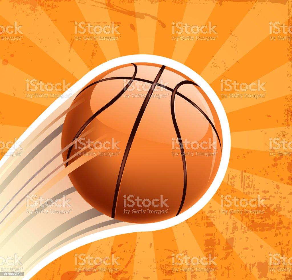 Baloncesto ganar - ilustración de arte vectorial