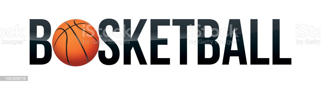 basketball word art illustration stock vector art more images of