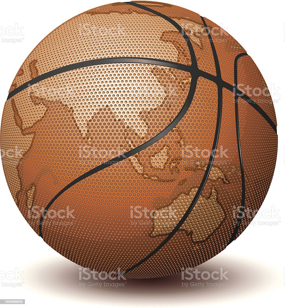 Basketball world royalty-free basketball world stock vector art & more images of asia