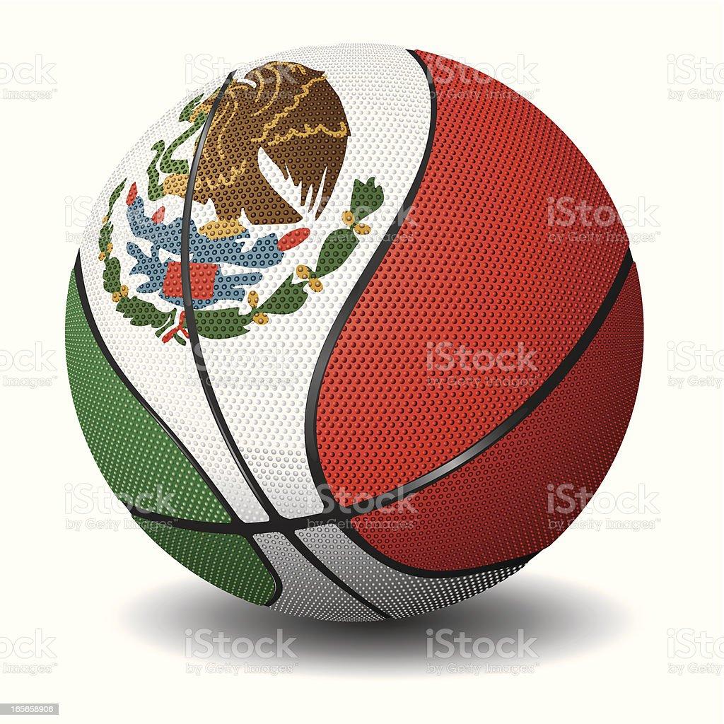 Basketball-Mexico royalty-free basketballmexico stock vector art & more images of basketball - ball