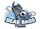 istock bass fish skull mascot logo 1316961449