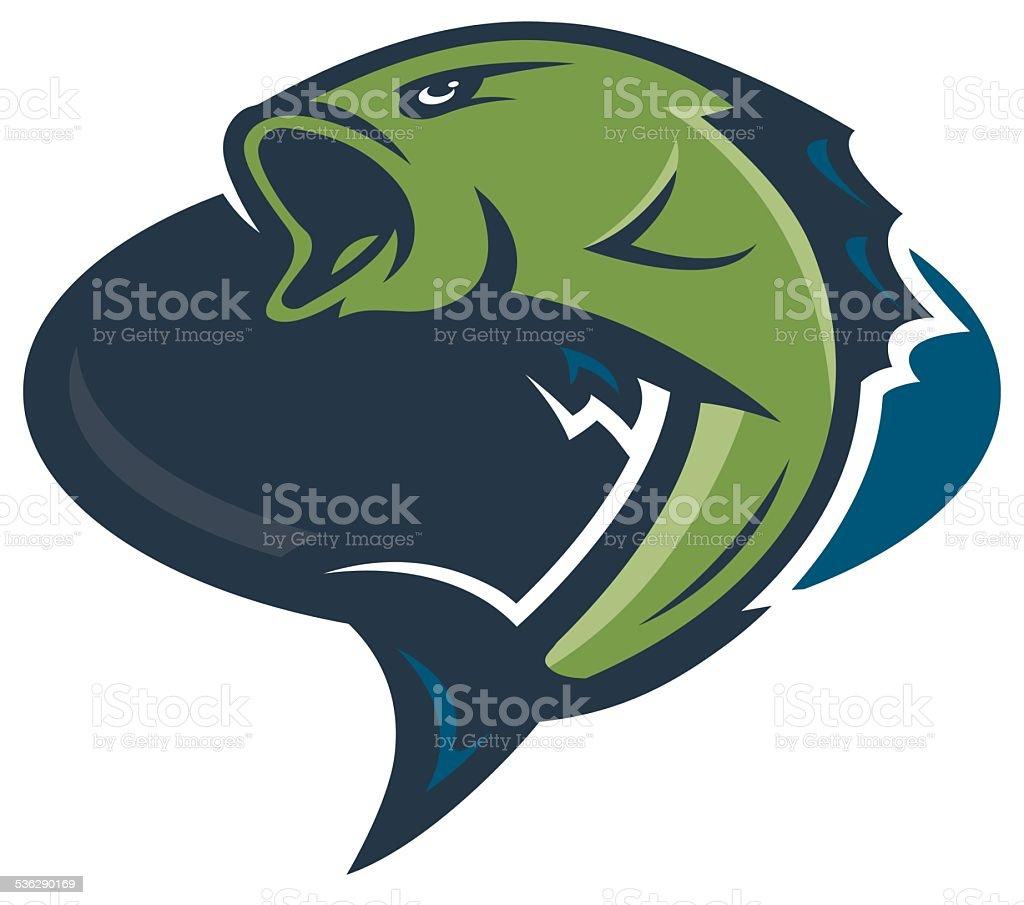 Bass Fishing Logo royalty-free bass fishing logo stock vector art & more images of 2015