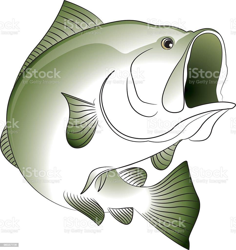 Bass royalty-free stock vector art