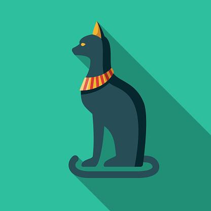 Bastet Egypt Icon