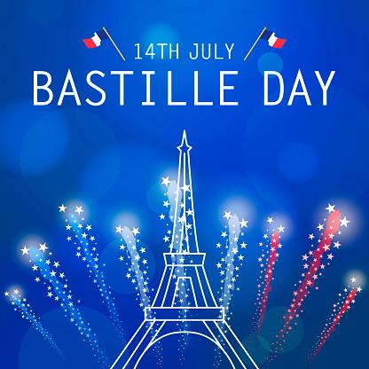 Bastille Day Celebration Fireworks